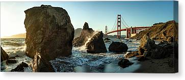 The Golden Gate Bridge Canvas Print by Michael Kaupp