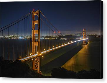 The Golden Gate Bridge Canvas Print by Rick Berk