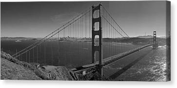 The Golden Gate Bridge Canvas Print by Twenty Two North Photography