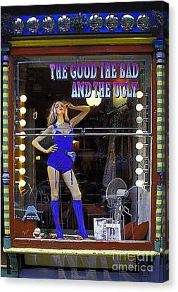 The Good Bad And Ugly Canvas Print by Bruce Bain