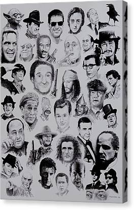 The Good Bad And Ugly Canvas Print by Tony Ruggiero
