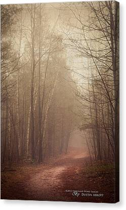 Kim Klassen Texture Canvas Print - The Good Path by Dustin Abbott
