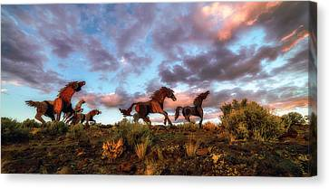 The Good Run Canvas Print by James Heckt