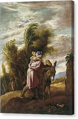 The Good Samaritan Canvas Print by Domenico Fetti