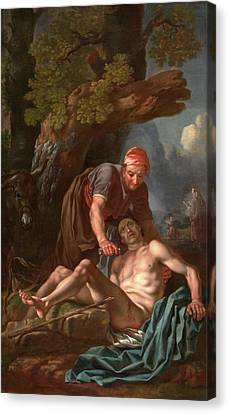 The Good Samaritan, Francis Hayman, 17078-1776 Canvas Print by Litz Collection