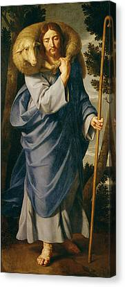 The Good Shepherd  Canvas Print by Philippe de Champaigne