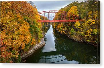 The Gorge Canvas Print by Bill Wakeley