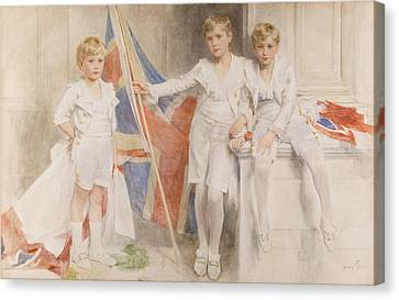 The Gow Brothers, 1914 Canvas Print