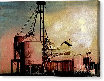 Feed Mill Canvas Print - The Granary by R Kyllo