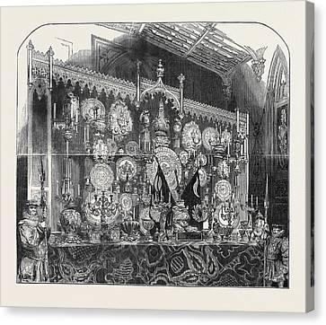 The Grand Buffet Canvas Print