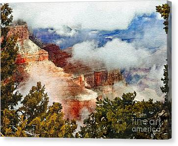 Nadine Canvas Print - The Grand Canyon National Park by Bob and Nadine Johnston