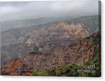 The Grand Canyon Of The Pacific Canvas Print by Butch Phillips