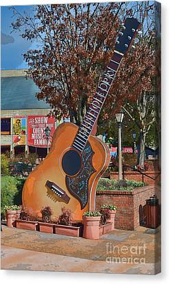 The Grand Ole Opry Canvas Print by Donna Greene