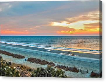 The Grand Strand Canvas Print by Donnie Smith