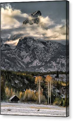 The Grand Teton Canvas Print