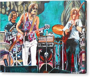 The Grateful Dead In Englishtown Canvas Print