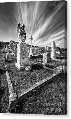 The Graveyard Canvas Print by Adrian Evans