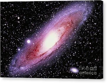 The Great Andromeda Galaxy Canvas Print by John Chumack