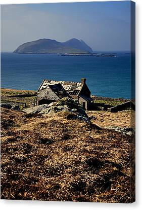 The Great Blasket Canvas Print by Florian Walsh