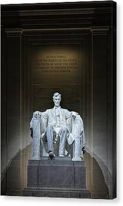 The Great Emancipator Canvas Print by Metro DC Photography