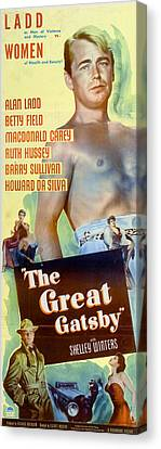 The Great Gatsby 1949 Canvas Print