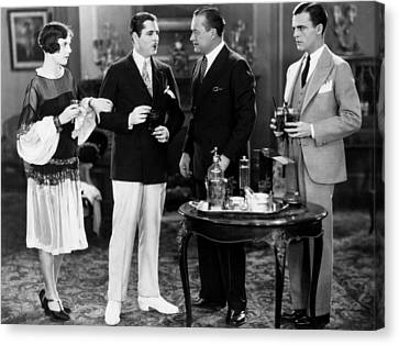 The Great Gatsby, From Left, Lois Canvas Print by Everett