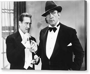 The Great Hotel Murder, From Left Canvas Print by Everett