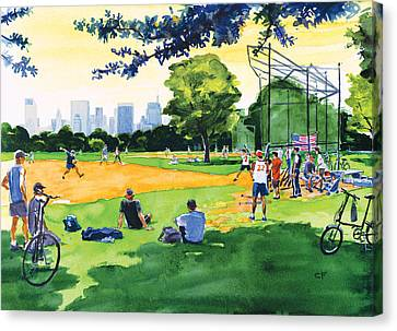 The Great Lawn Canvas Print