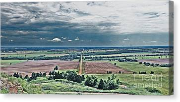 The Great Plains Canvas Print by Betty Morgan
