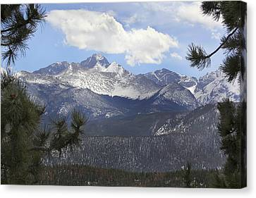The Rocky Mountains - Colorado Canvas Print by Mike McGlothlen