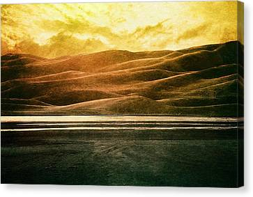 The Great Sand Dunes Canvas Print by Brett Pfister