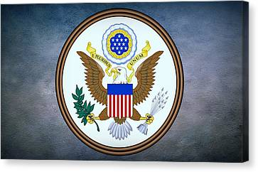 The Great Seal Of The United States  Canvas Print by Movie Poster Prints