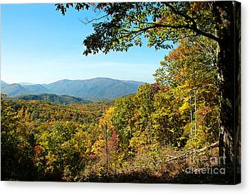 Gatlinburg Tennessee Canvas Print - The Great Smoky Mountains by Lena Auxier