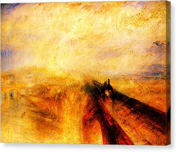Modern Canvas Print - The Great Western Railway by Celestial Images