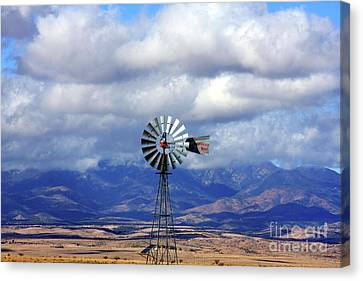 The Great Western Windmill Canvas Print
