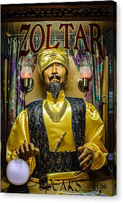 The Great Zoltar Canvas Print by David Morefield