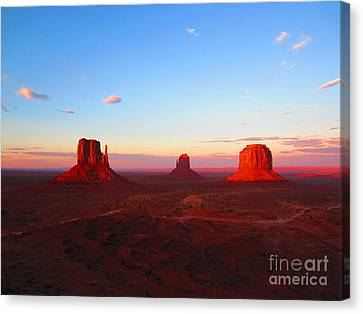 The Greatest View Canvas Print by C Lythgo