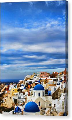 The Greek Isles-oia Canvas Print