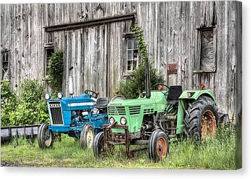 The Green Duetz Canvas Print by JC Findley