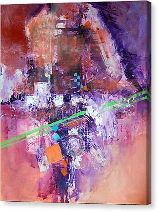 The Green Line Canvas Print by Ron Stephens