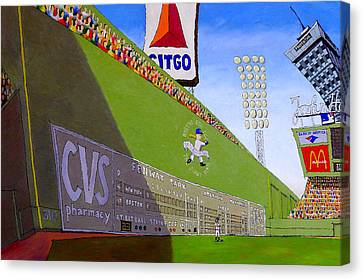 The Green Monster Canvas Print