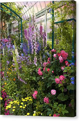 The Greenhouse Canvas Print by Jessica Jenney