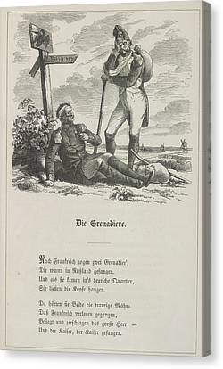 The Grenadier Canvas Print by British Library