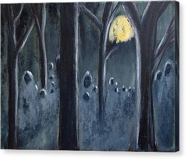 The Grey Follower#2 Canvas Print