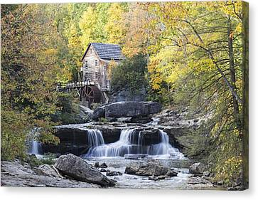 The Grist Mill Canvas Print by Amber Kresge