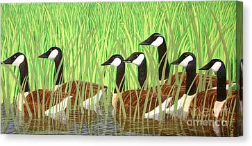 The Group Of Seven Canvas Print