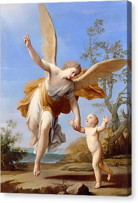 The Guardian Angel Canvas Print