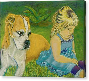 The Guardian Canvas Print by D Renee Wilson