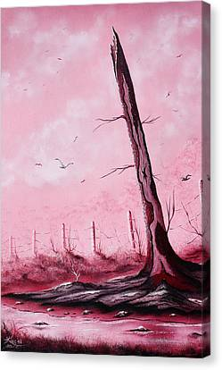 The Guardian Canvas Print by Russell  King