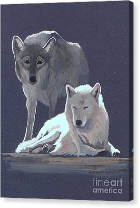 The Guardian Canvas Print by Suzanne Schaefer